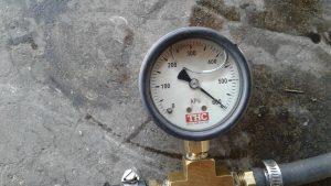 Test Volvo Fuel pressure