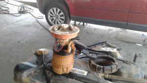 Volvo pump pressure to high